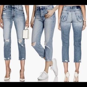 NEW $248 MOTHER THE TOMCAT CONFESSION JEANS